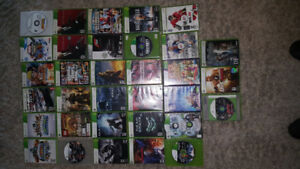 Xbox 360 Games $125.00 All 33 Games