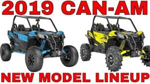 2018 Can-Am Up to $3000 Off 2018's Clearance pricing