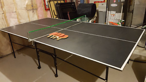 Pingpong Table with 4 rackets