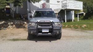 2003 Nissan Xterra SE SUV, Crossover 4X4 supercharger 5800 OBO