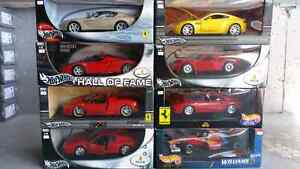 Hot Wheels Heritage 1:18 Diecast Ferrari 512M, F1 and Enzo
