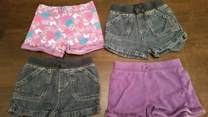 4 pull on shorts size 18- 24 months - Children's Place
