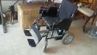 Adult Electric folding wheelchair