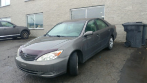 Toyota Camry 2004 4cyl