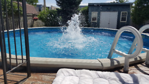 Above Ground Pool + Accessories (21 Ft)
