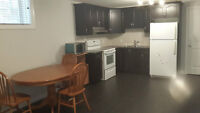 2 Bedroom and 2 full bathroom legal basement suite