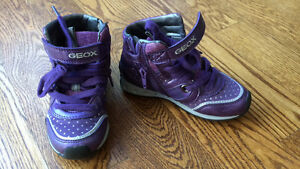Geox size 9 girls shoes + Halloween costumes