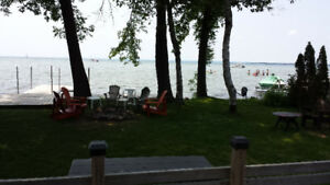 COTTAGE FOR RENT DIRECT WATERFRONT .LAGOON CITY, LAKE SIMCOE