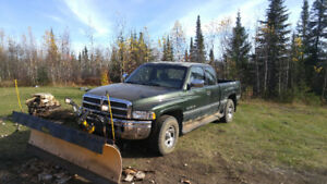 Dodge Power Ram 1500 with plow