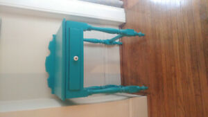 Antique washstand in colour