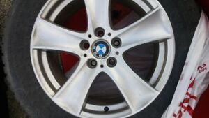 Studded winter tires on BMW rims