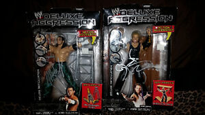 Autographed wrestlers