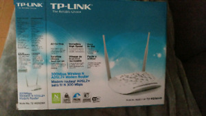 Tp Link 300Mbps Wireless N ADSL2 +Mode. router