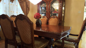 Dining Table Set with Buffet. West Island Greater Montréal image 1