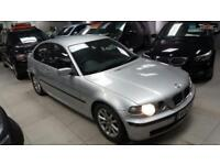 2003 BMW 3 SERIES 316TI ES Silver Manual Petrol