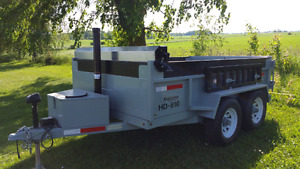 2017 maplelawn hd 610 trailer