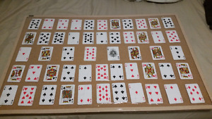 Poker Darts Board made as Jack and Jill game