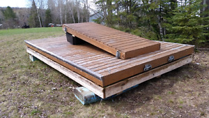 Used floating docks for sale more coming.