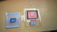 64GB + 32GB Class 10 Micro SD Cards Both for $45