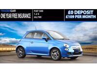 Fiat 500 1.2 S - FREE INSURANCE