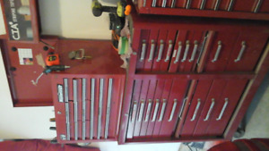 Tool boxes & misc. tools