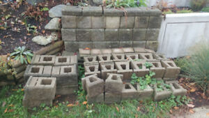 Concrete blocks for walls