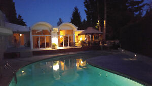 huge master suite in an executive home close to ubc