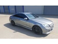 """Mercedes E500 18"""" wheels and tyres"""