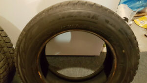 2- 195/65/15 winter tires for sale