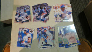 McDonald's/Donruss Blue Jays MVP cards(18)(2Sets+)