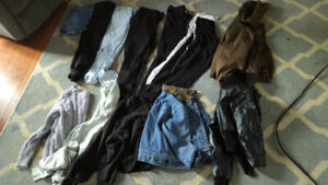 Womens Girls Lot of Garage Clothing. Size 9  Jeans, jackets, etc