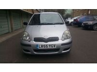 TOYOTA YARIS 1.3 VVT-I, 2005, MANUAL, ONE YEAR MOT