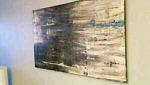 *sold*  Original local abstract art sale click for more art! Kitchener / Waterloo Kitchener Area image 1