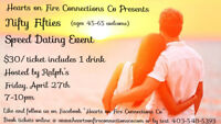 Tickets to a Speed Dating Event!!