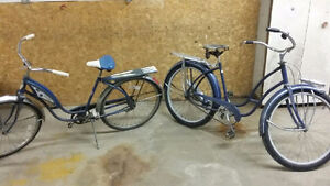 Two - AMF Road master bikes