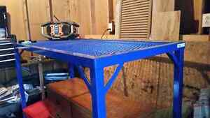 Expanded Metal Work Table - Price reduced!
