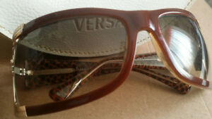 Authentic Versace Sunglass - Brown