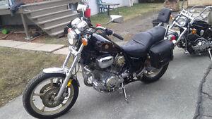 Yamaha virago 1984 pret pour lété