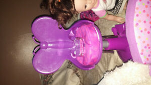 Dolls and large accessory lot