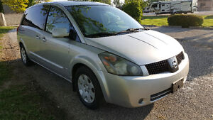 2005 Nissan Quest  DVD