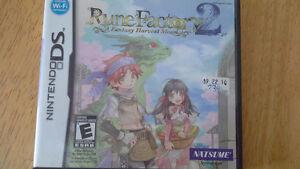 Ninetedo Rune Factor 2 Fantasy Harvest Moon DS