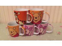Disney Mugs x5