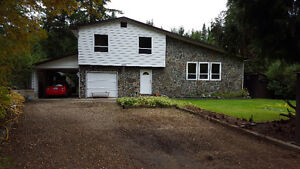Waterfront executive four level split home Clearwater BC