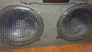 Subwoofers in box