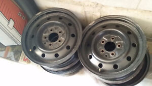 Perfect Condition - Steel Rims set of 4, 15 inch, 5 x 114