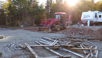 Tractor, Dumping Trailer, and Landscaping Services