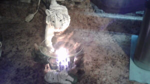 Ice N Fire Candles with rings