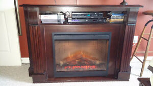 Like New Dimplex Langley Media Console Fireplace