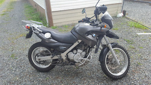 2001 BMW F650GS $3500 or trade for fishing boat