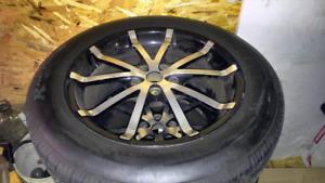 Mag avec pneu d ete 18 pouces